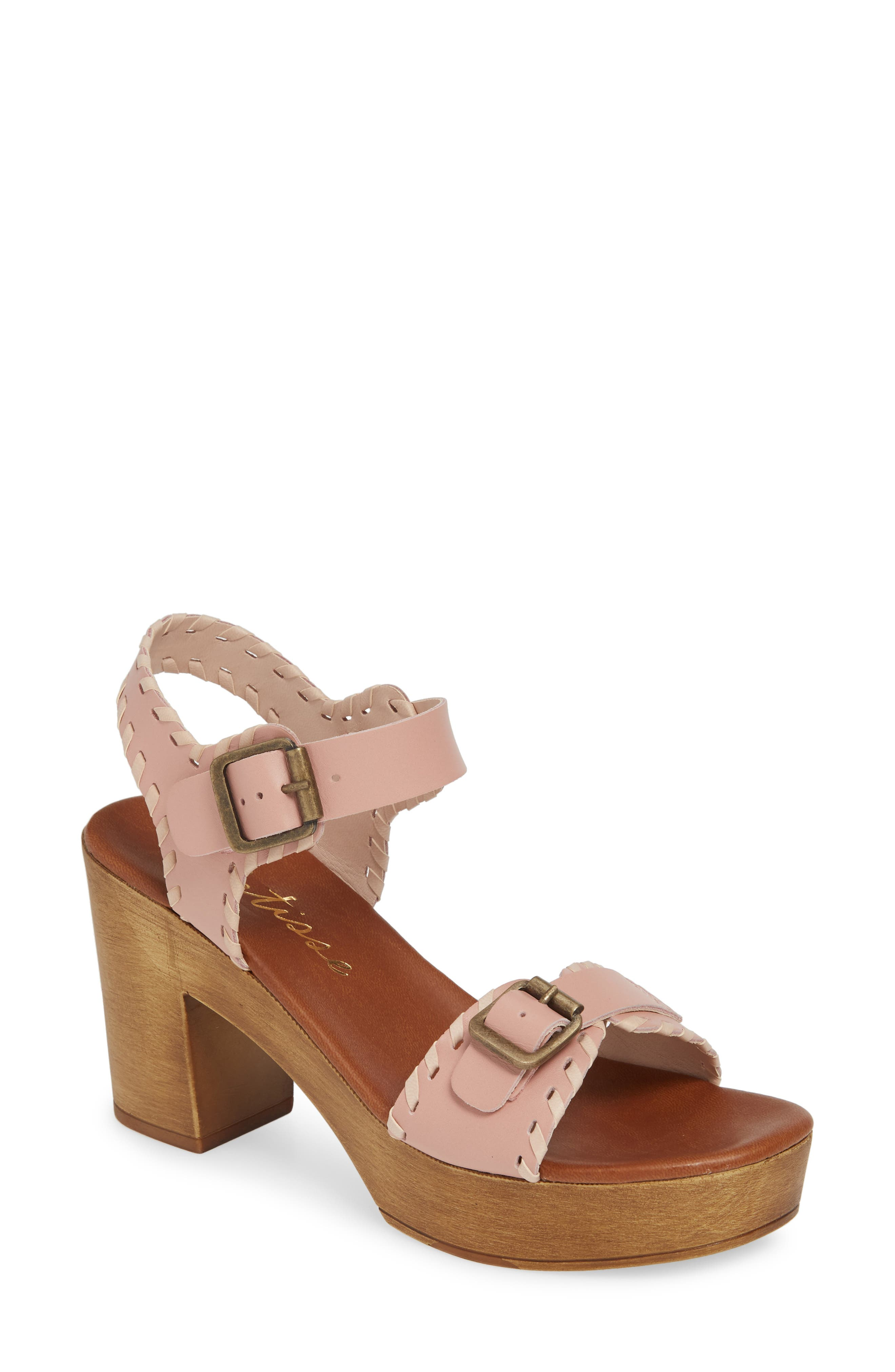 Matisse Twiggy Platform Sandal, Pink