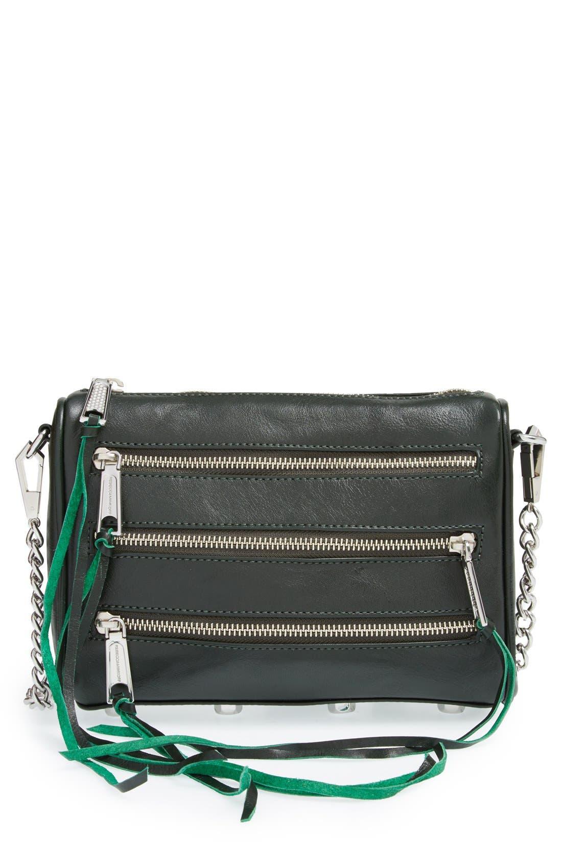 ,                             'Mini 5 Zip' Convertible Crossbody Bag,                             Main thumbnail 17, color,                             301