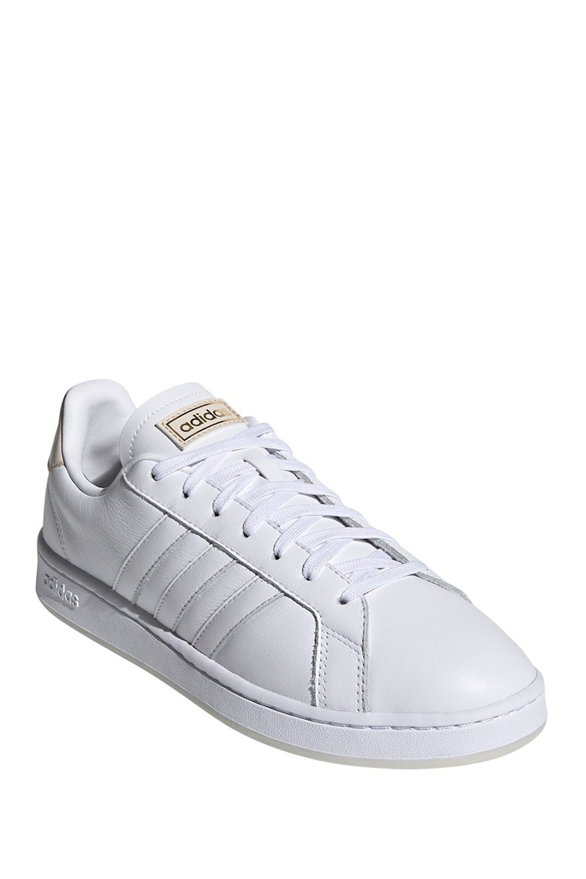 Image of adidas Grand Court Leather Sneaker