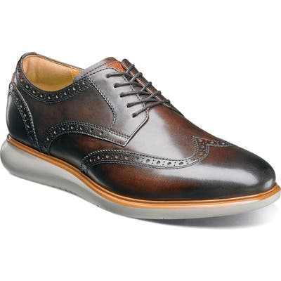 Florsheim Fuel Wingtip, Brown