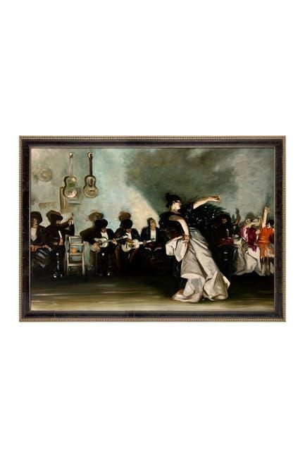 Image of Overstock Art El Jaleo by John Singer Sargent Framed Hand Painted Oil Reproduction