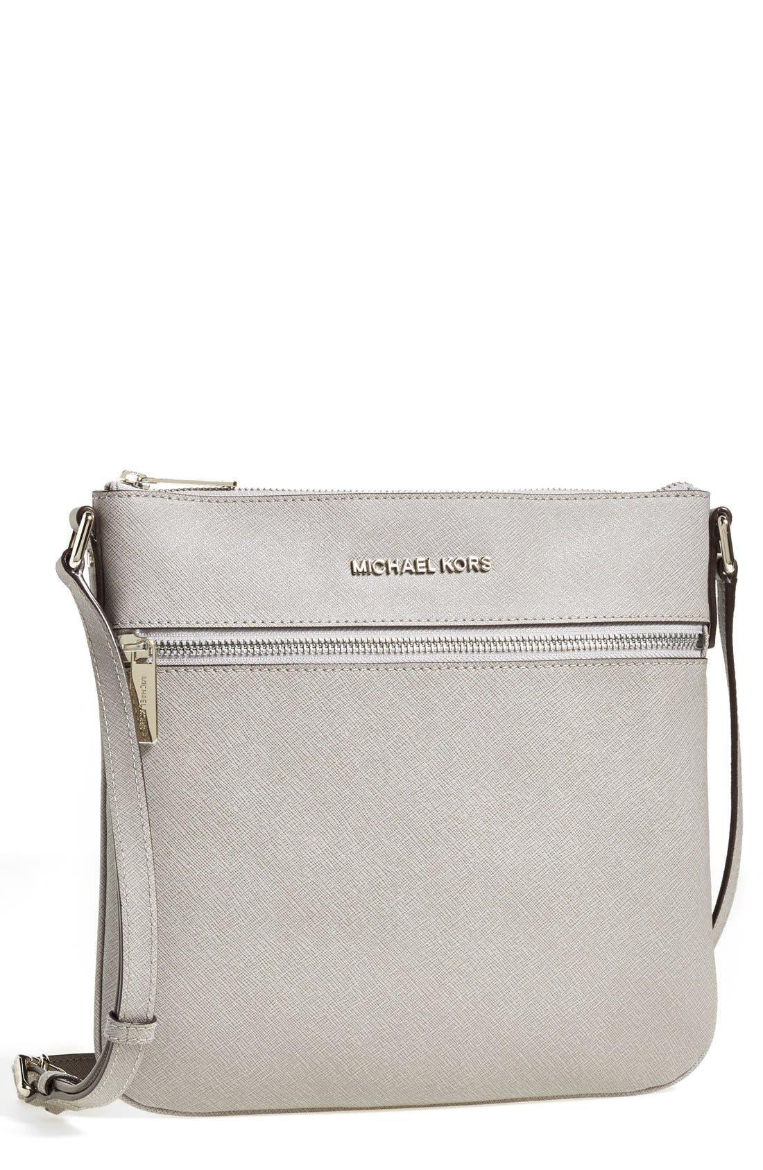 ,                             'Bedford' Saffiano Leather Crossbody Bag,                             Main thumbnail 3, color,                             081