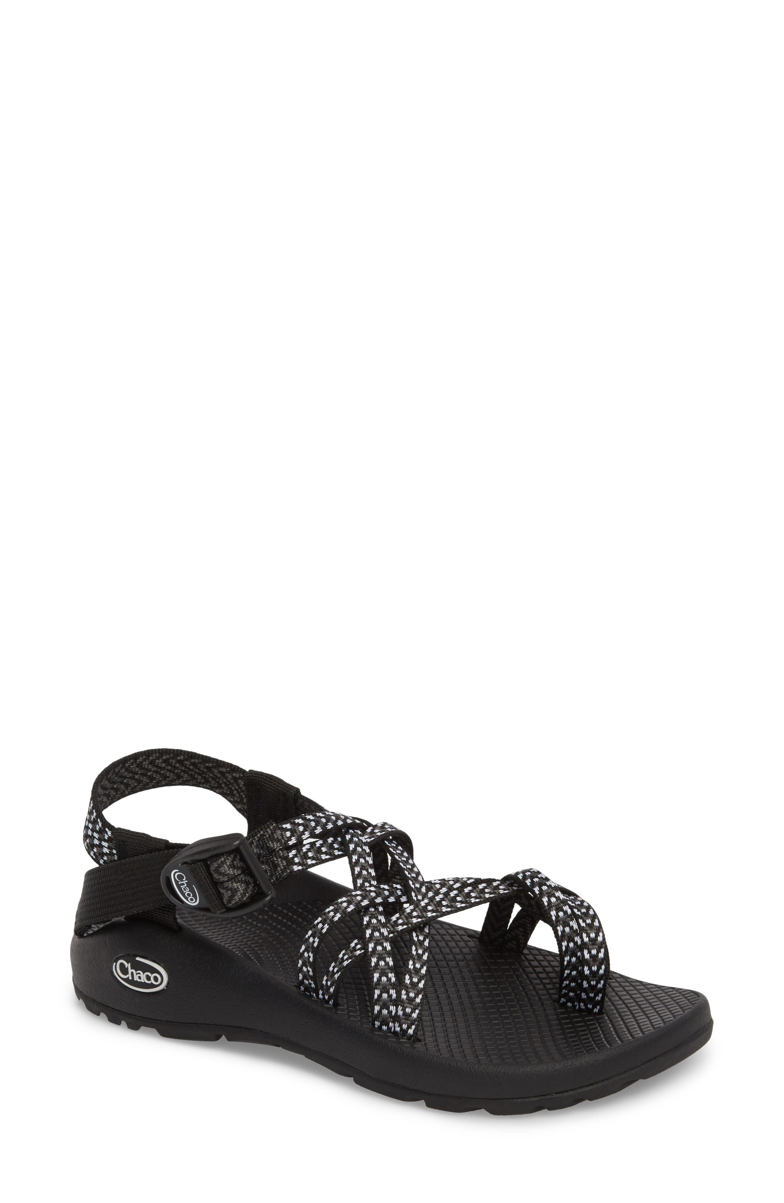 ,                             ZX/2<sup>®</sup> Classic Sandal,                             Main thumbnail 1, color,                             BOOST BLACK