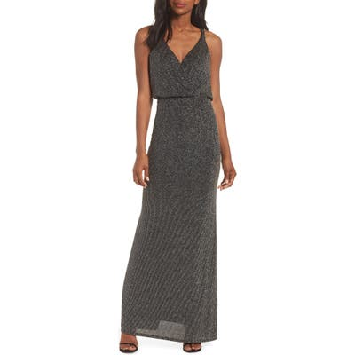 Vince Camuto Blouson Gown, 8 (similar to 1) - Black