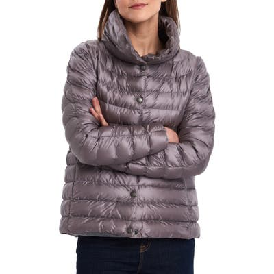 Barbour Aerielle Channel Quilted Puffer Jacket, US / 14 UK - Purple