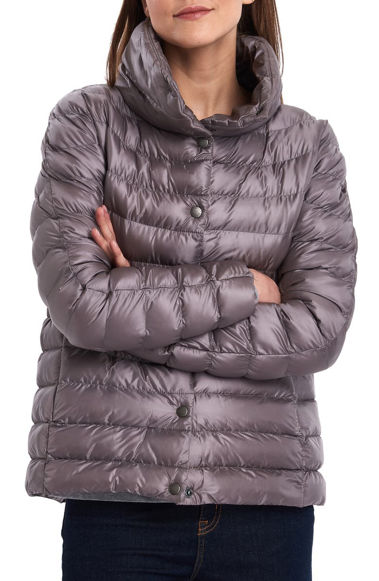 BARBOUR Aerielle Channel Quilted Puffer Jacket, Main, color, 500