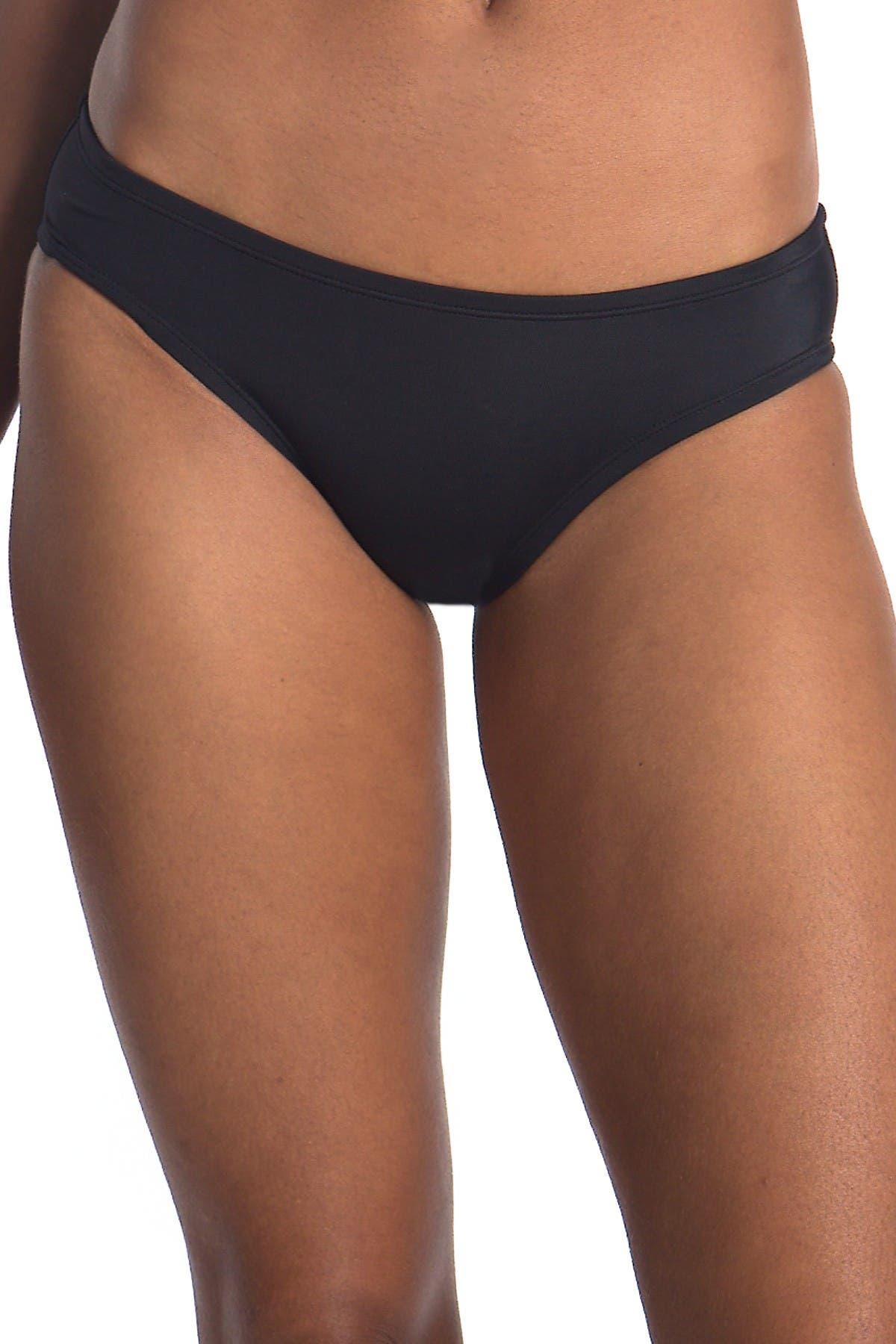 Image of Nike Solid Hipster Bikini Bottom