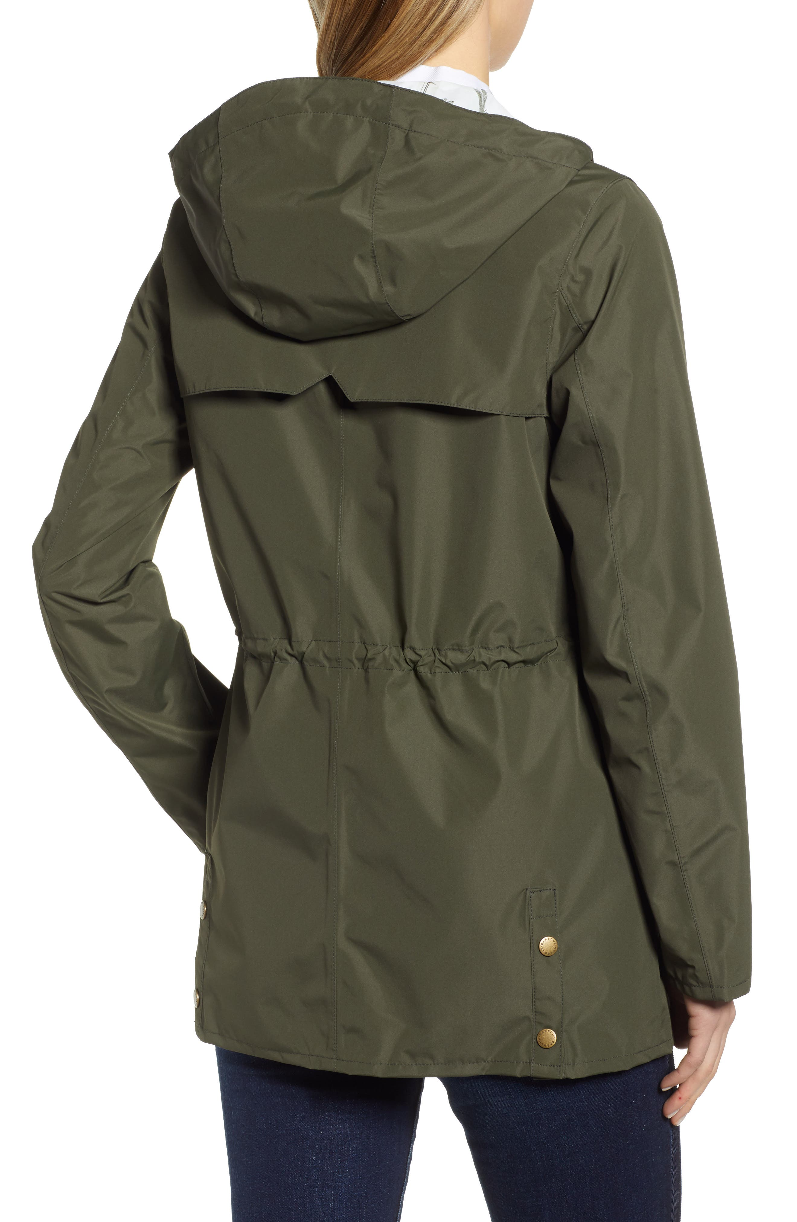 ,                             Aire Waterproof Hooded Jacket,                             Alternate thumbnail 2, color,                             OLIVE