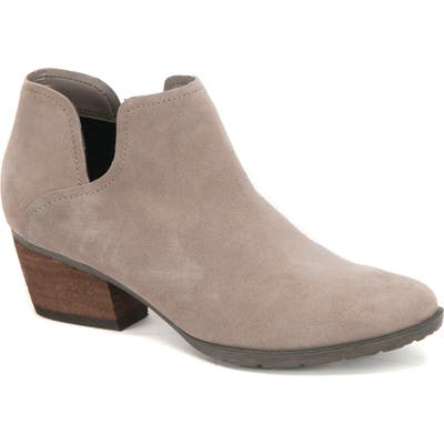 Blondo Victoria Waterproof Cutout Bootie, Grey