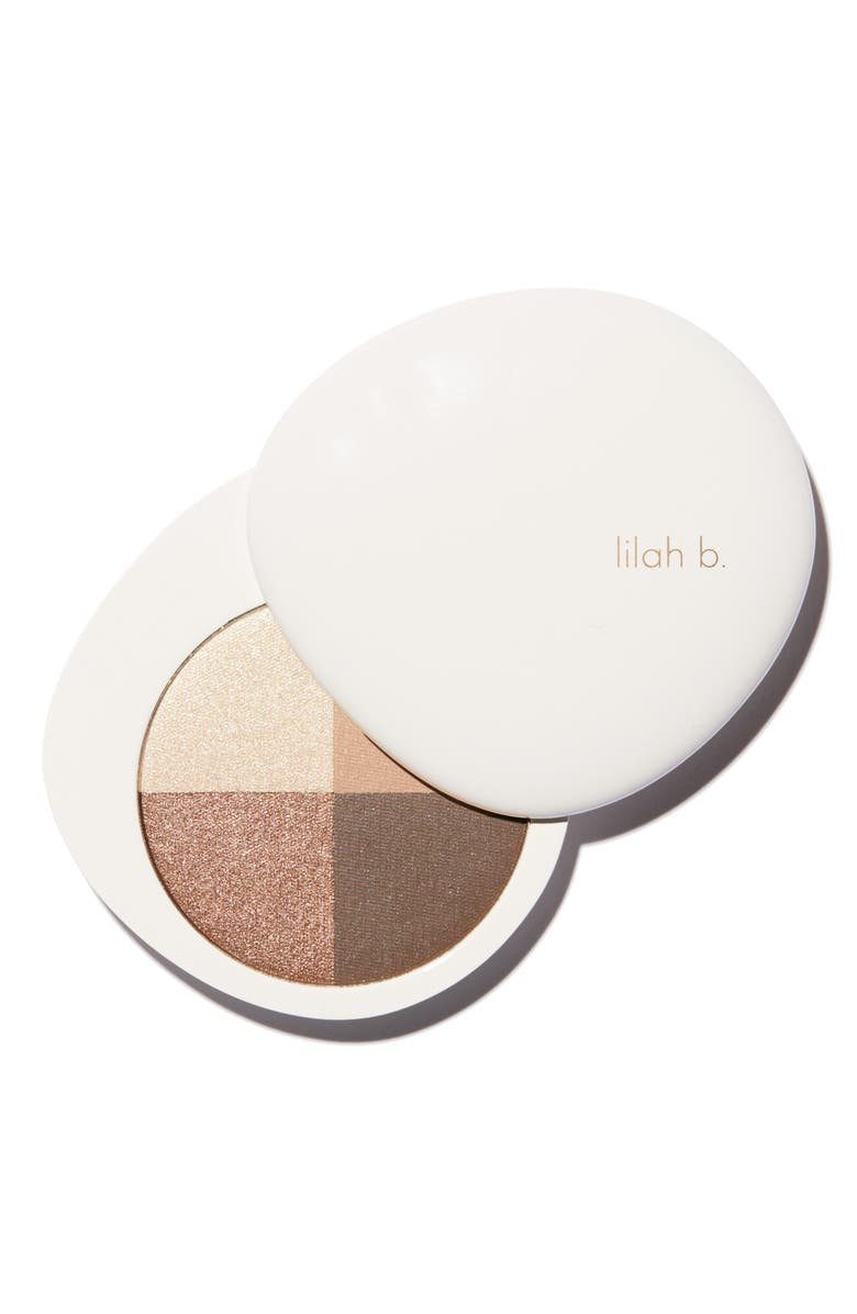 LILAH B. Palette Perfection Eye Quad, Main, color, 200