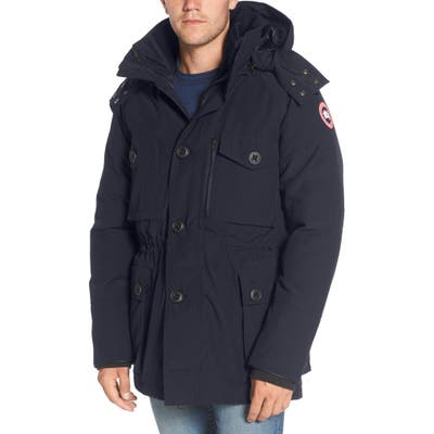 Canada Goose Drummond Regular Fit 3-In-1 Parka, Blue