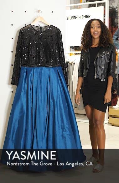 Embellished Taffeta Ballgown, sales video thumbnail