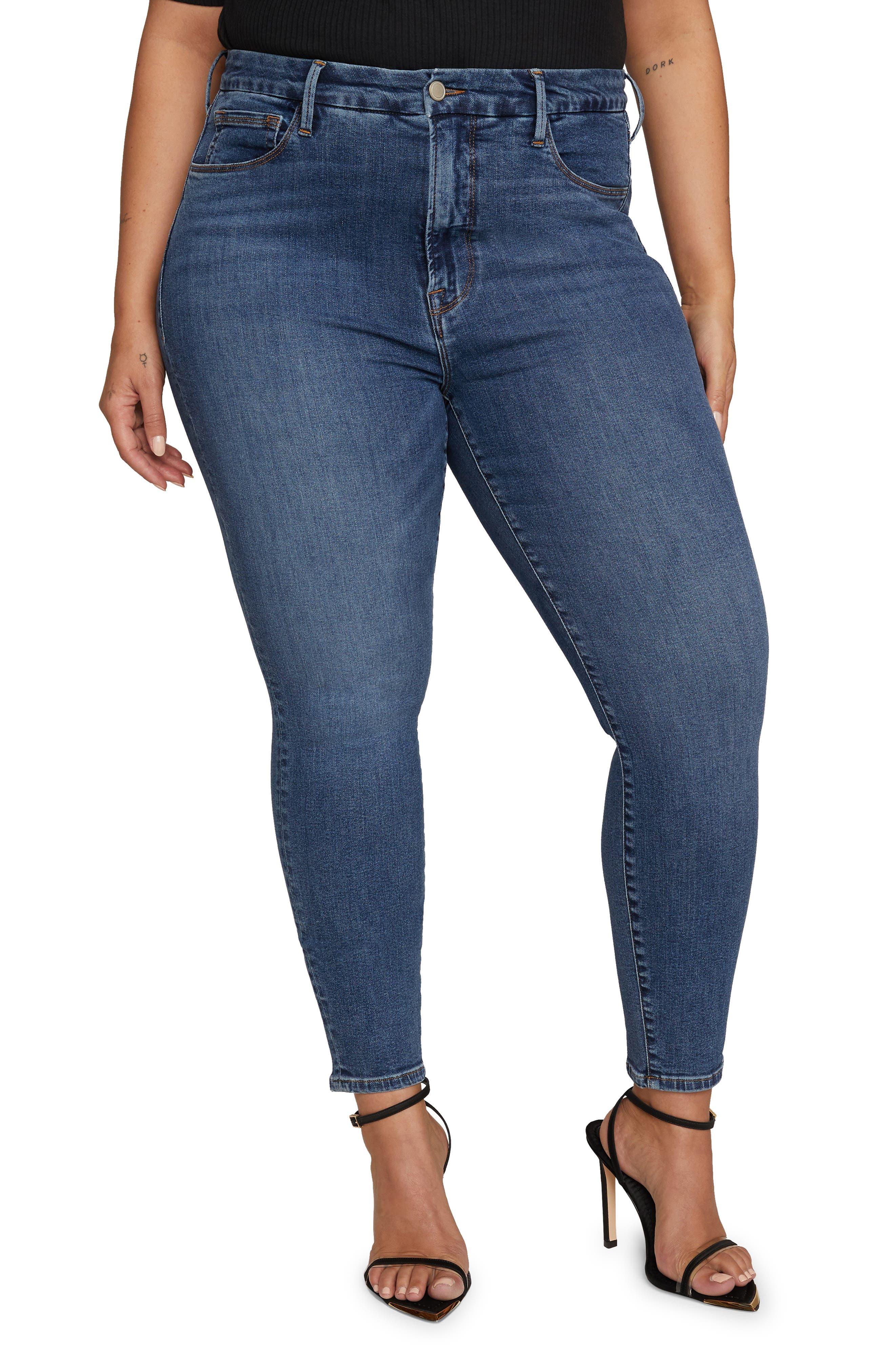 Good Legs High Waist Crop Extreme V Jeans