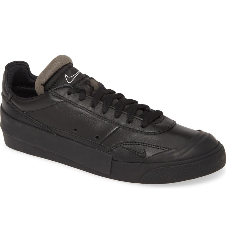 NIKE Drop-Type Premium Sneaker, Main, color, BLACK/ WHITE