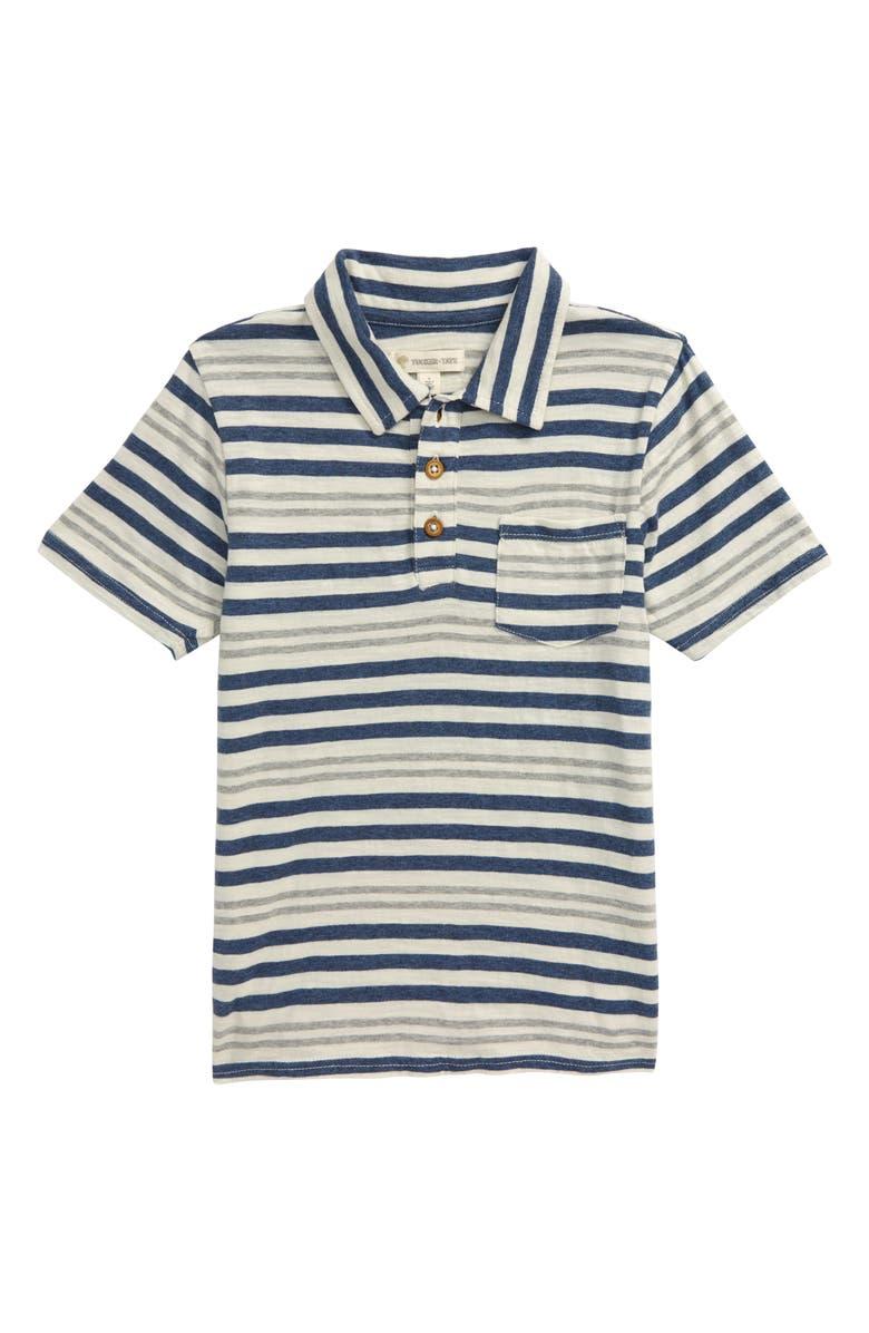 TUCKER + TATE Stripe Polo, Main, color, 900