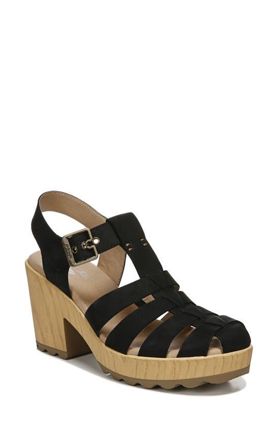 Dr. Scholl's Want It All Platform Sandal In Black