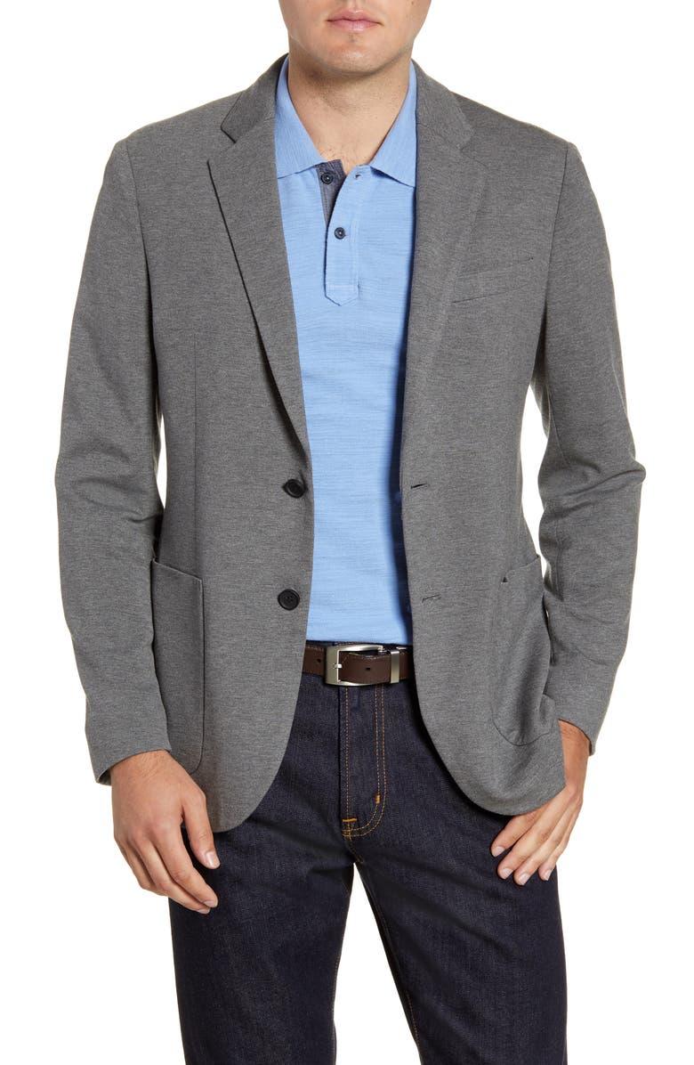 NORDSTROM MEN'S SHOP Regular Fit Knit Sport Coat, Main, color, 030