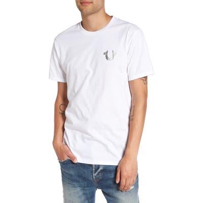 True Religion Brand Jeans Silver Buddha T-Shirt, White