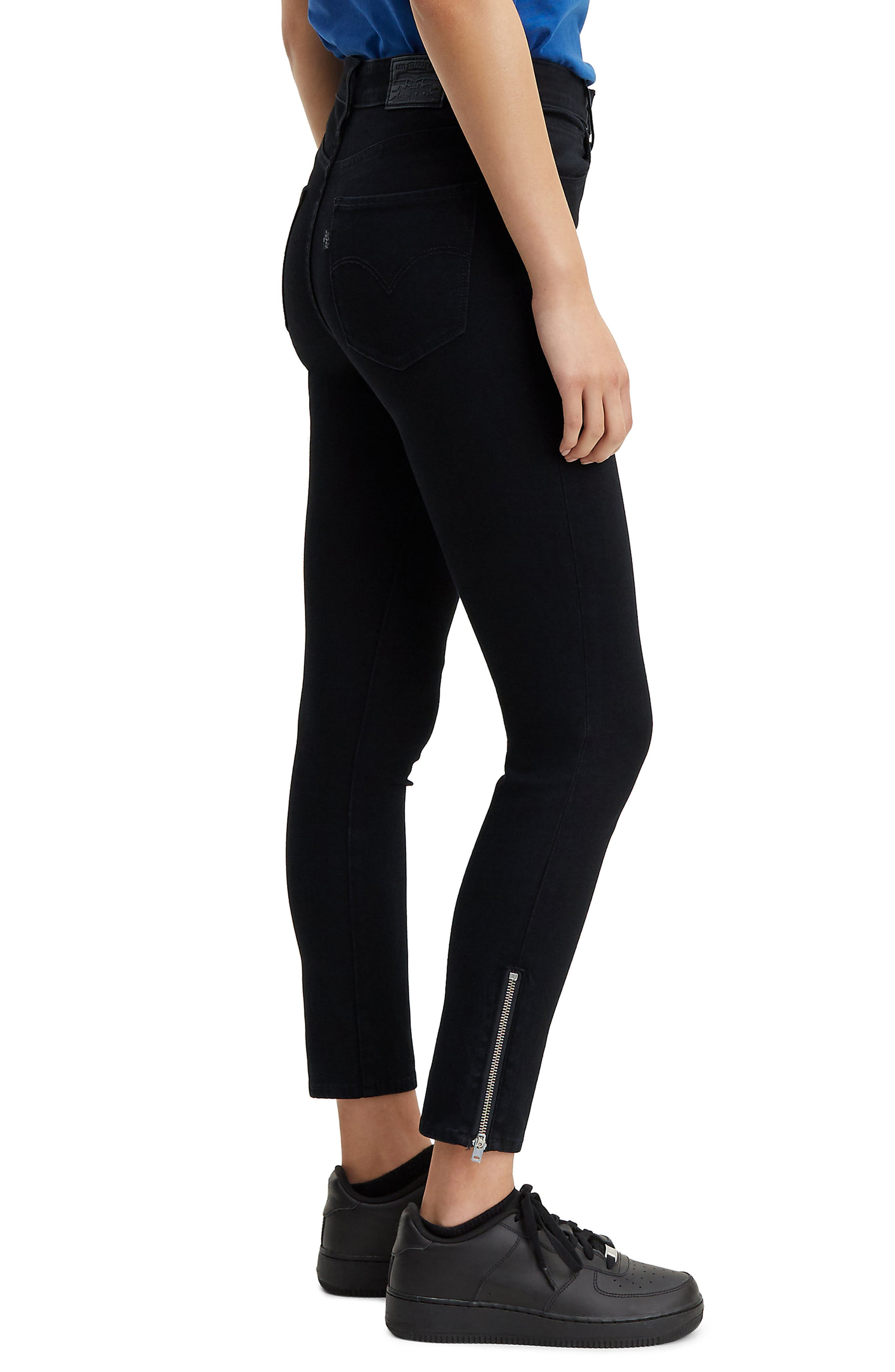 ,                             721<sup>™</sup> Altered High Waist Ankle Skinny Jeans,                             Alternate thumbnail 4, color,                             LONG SHOT