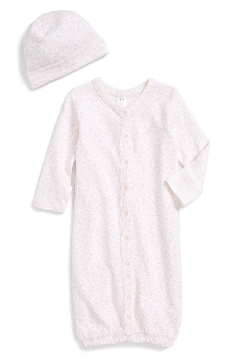 NORDSTROM BABY Convertible Gown & Hat Set, Main, color, 680