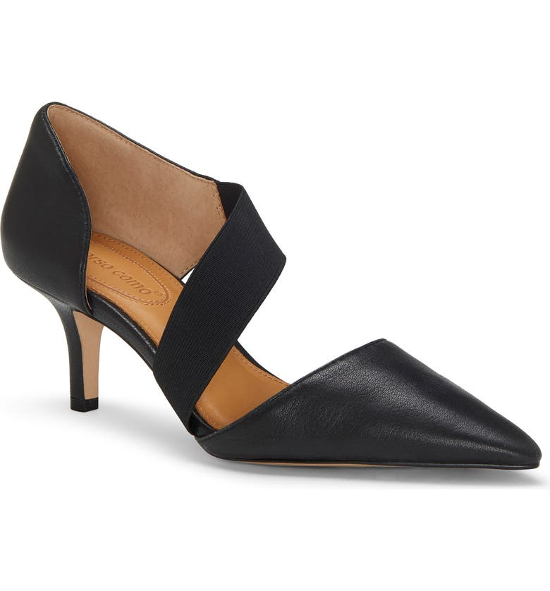 CC CORSO COMO<SUP>®</SUP> Denice Pump, Main, color, BLACK LEATHER