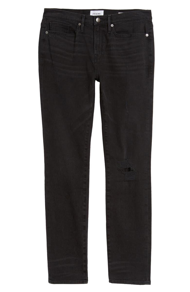 FRAME L'Homme Skinny Fit Jeans, Main, color, 009