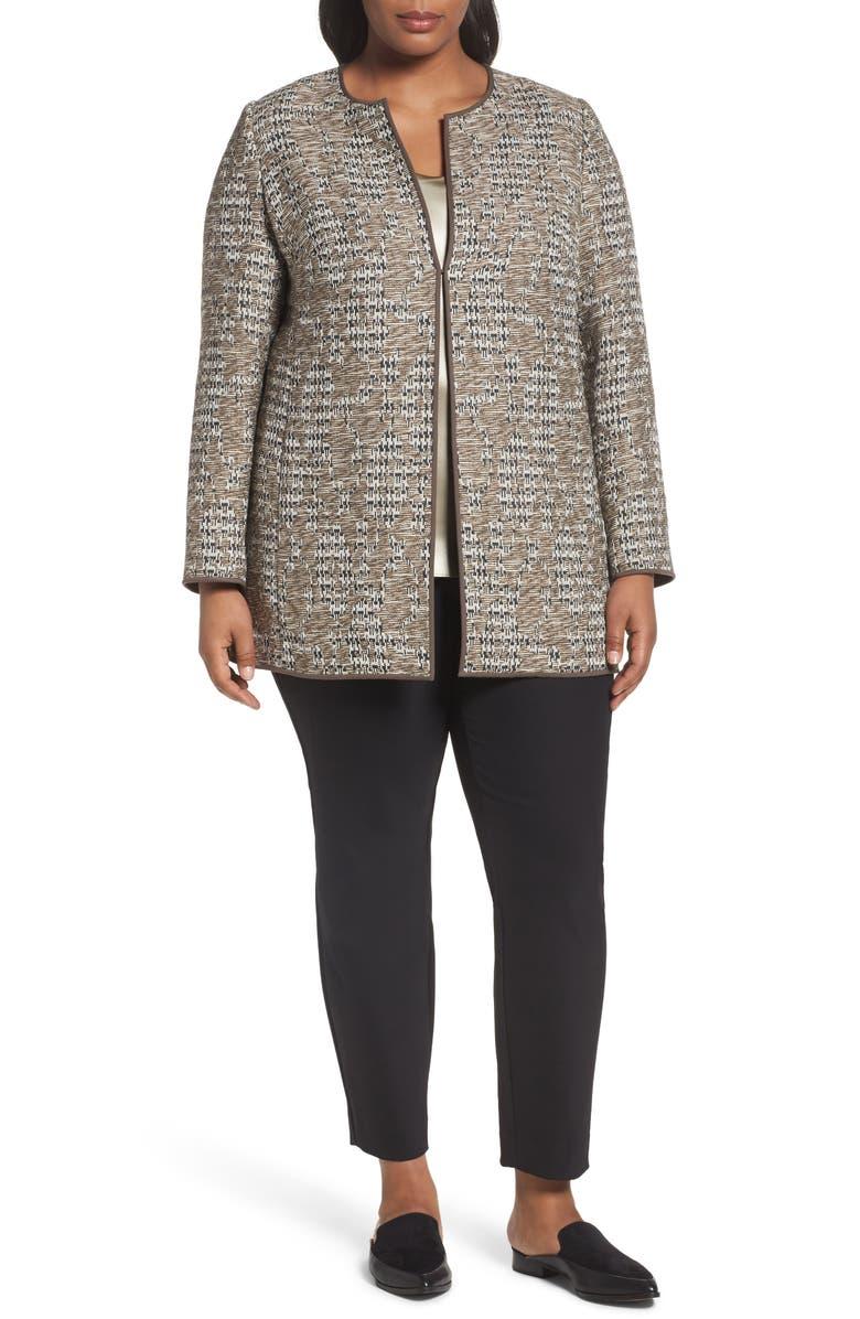 LAFAYETTE 148 NEW YORK Pria Tweed Jacket, Main, color, 208
