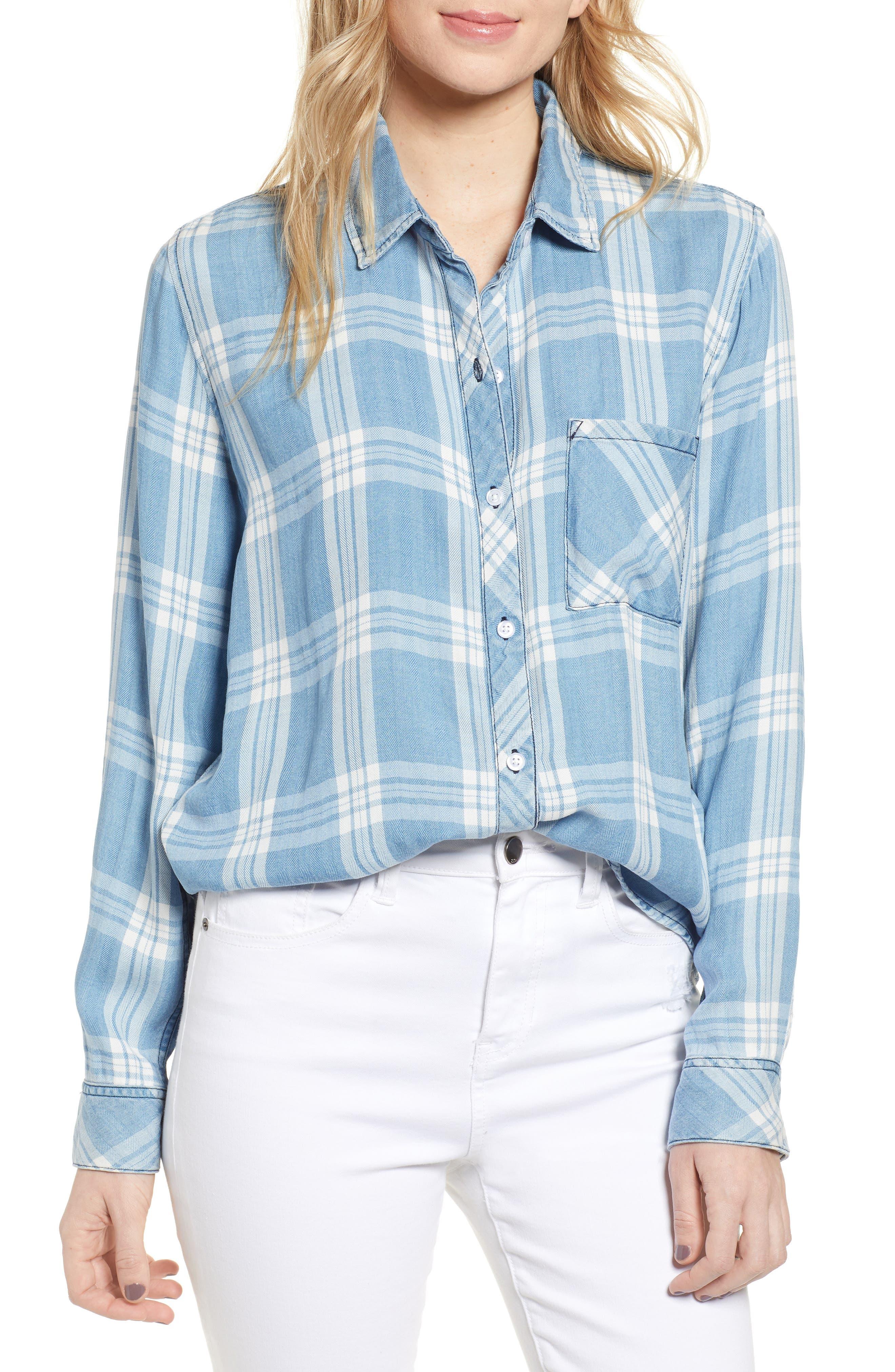 ,                             Hunter Plaid Shirt,                             Main thumbnail 139, color,                             473