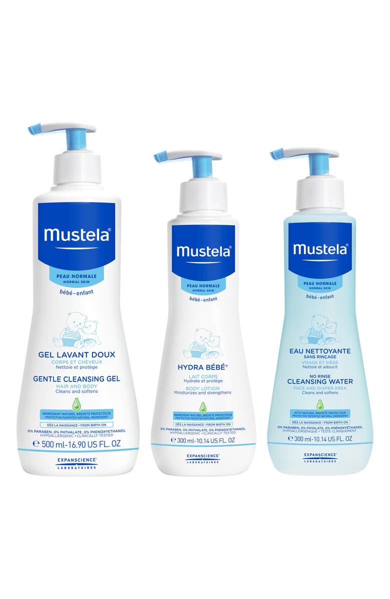 MUSTELA<SUP>®</SUP> Gentle Cleansing Set, Main, color, WHITE