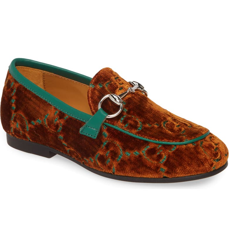GUCCI Jordaan Loafer, Main, color, COGNAC