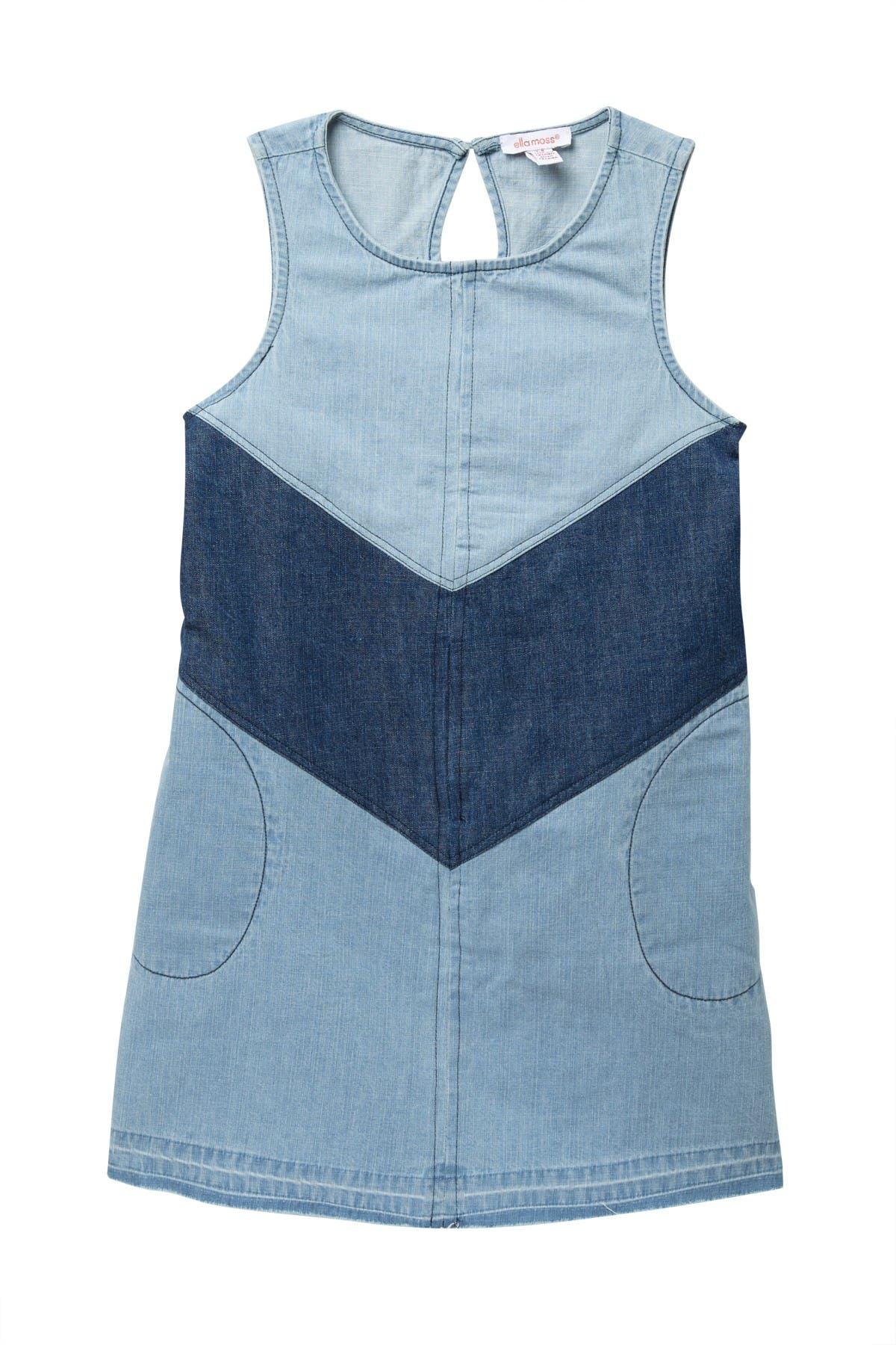 Image of Ella Moss Tiered Denim Dress
