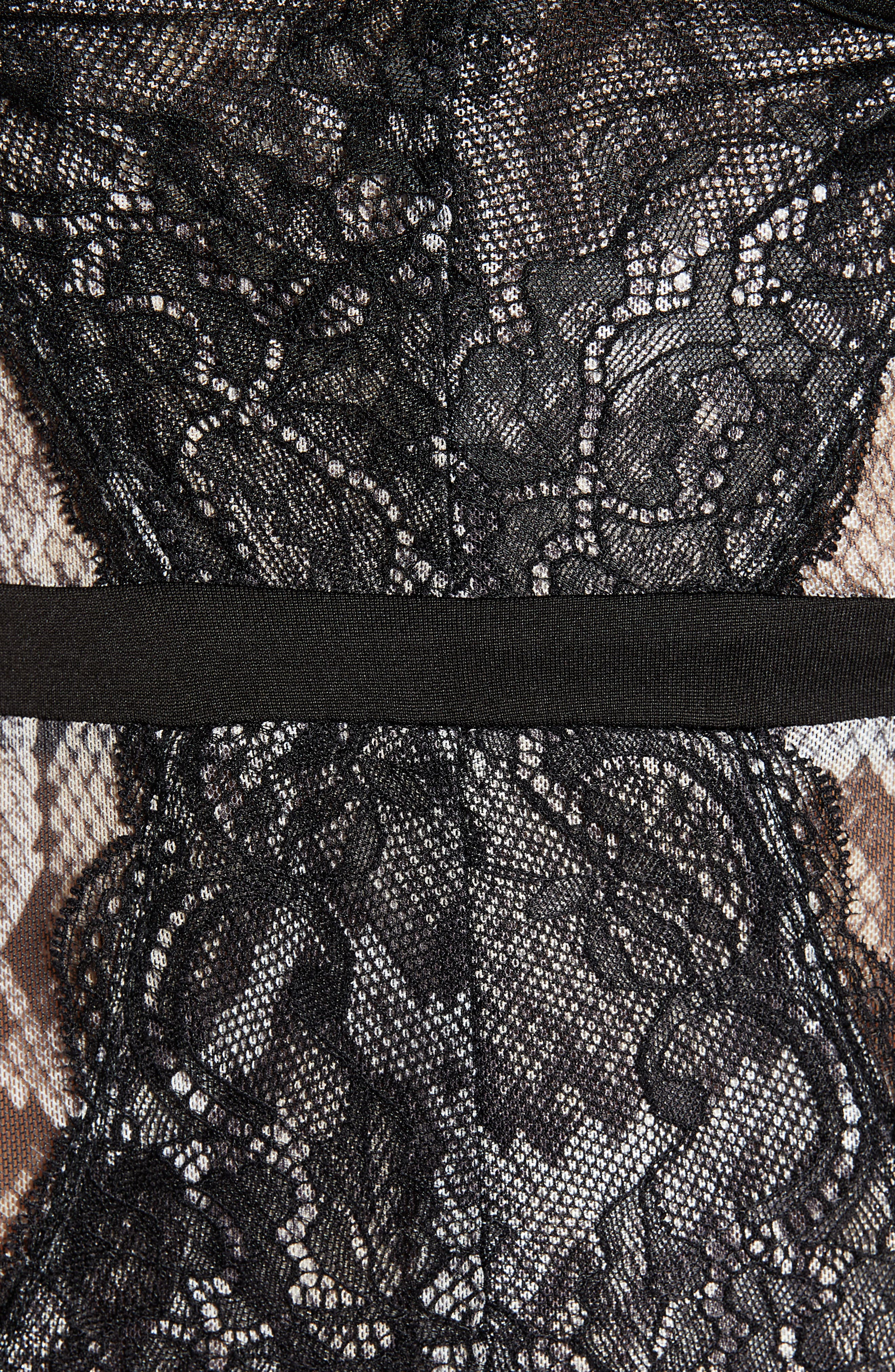 ,                             Lace Bodysuit,                             Alternate thumbnail 18, color,                             296