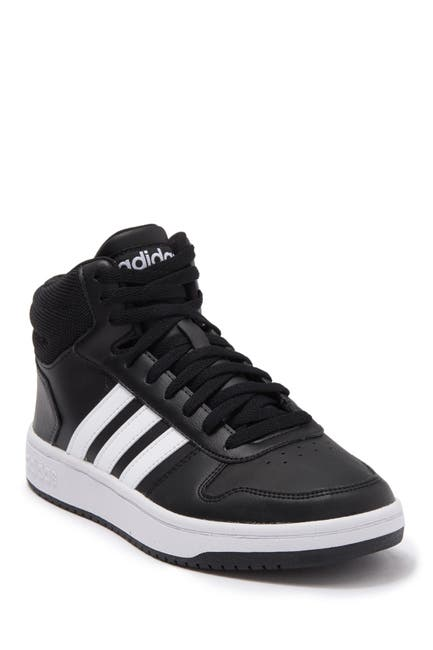 Image of adidas Hoops 2-0 Mid Sneaker