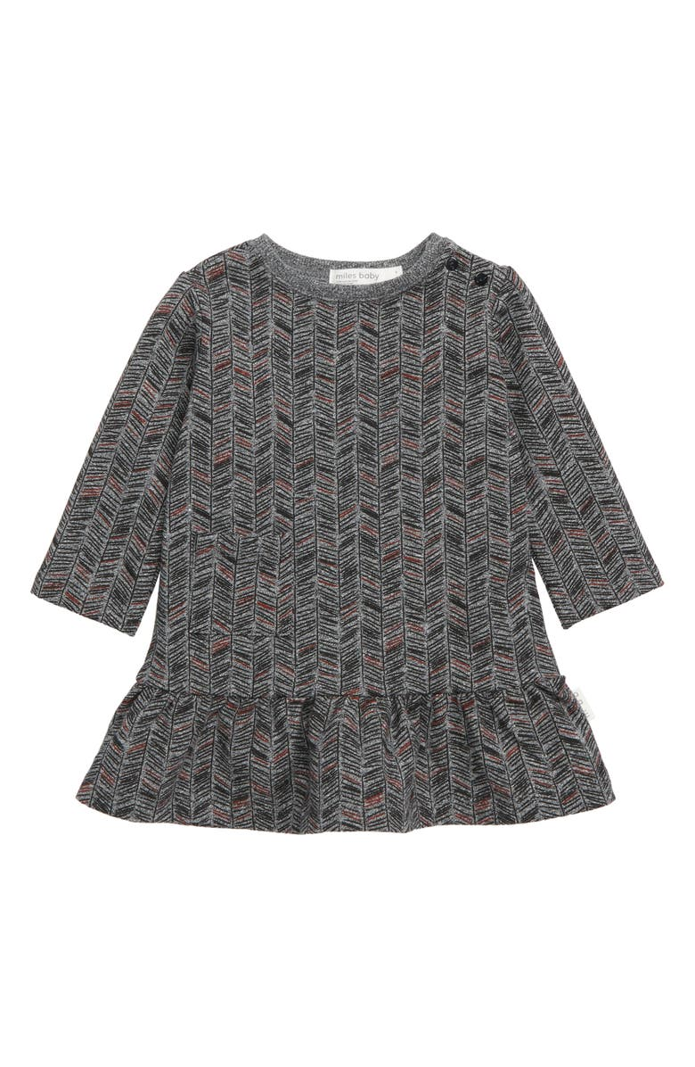 MILES baby Knit Ruffled Dress, Main, color, 062