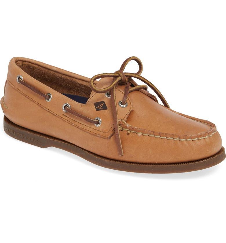 SPERRY 'Authentic Original' Boat Shoe, Main, color, Sahara
