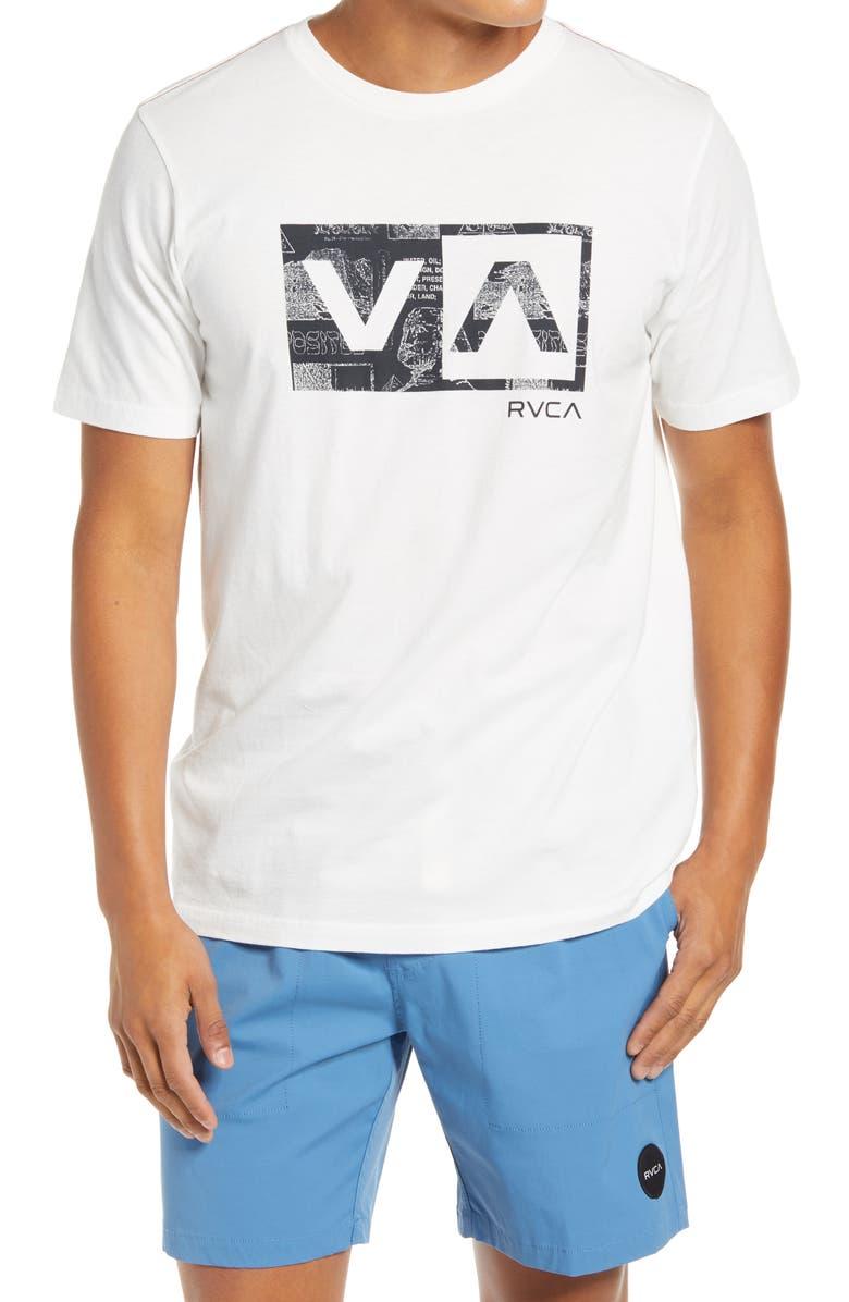 RVCA Balance Box Graphic Tee, Main, color, 100