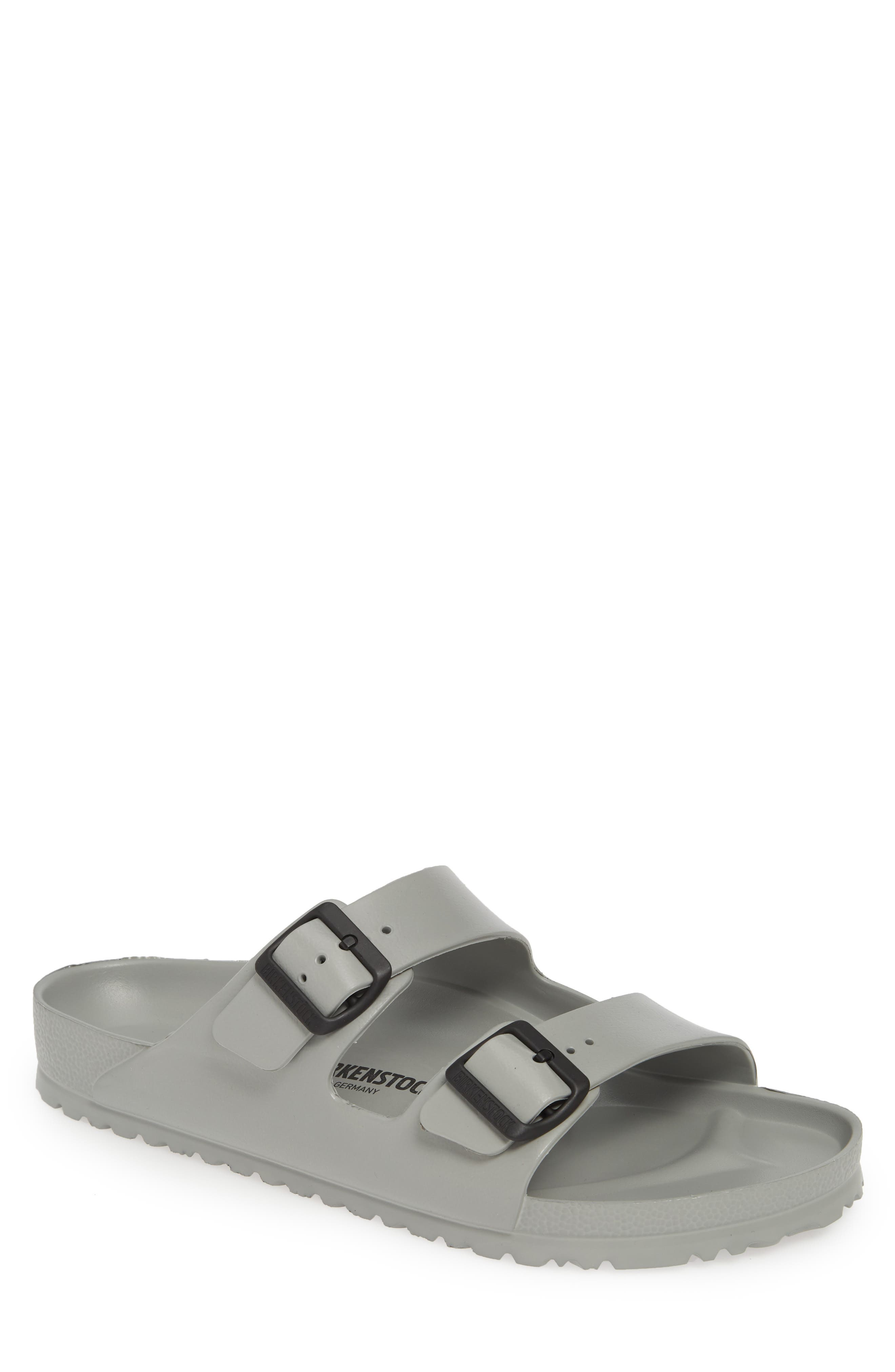 ,                             Essentials Arizona EVA Waterproof Slide Sandal,                             Main thumbnail 1, color,                             SEAL GRAY