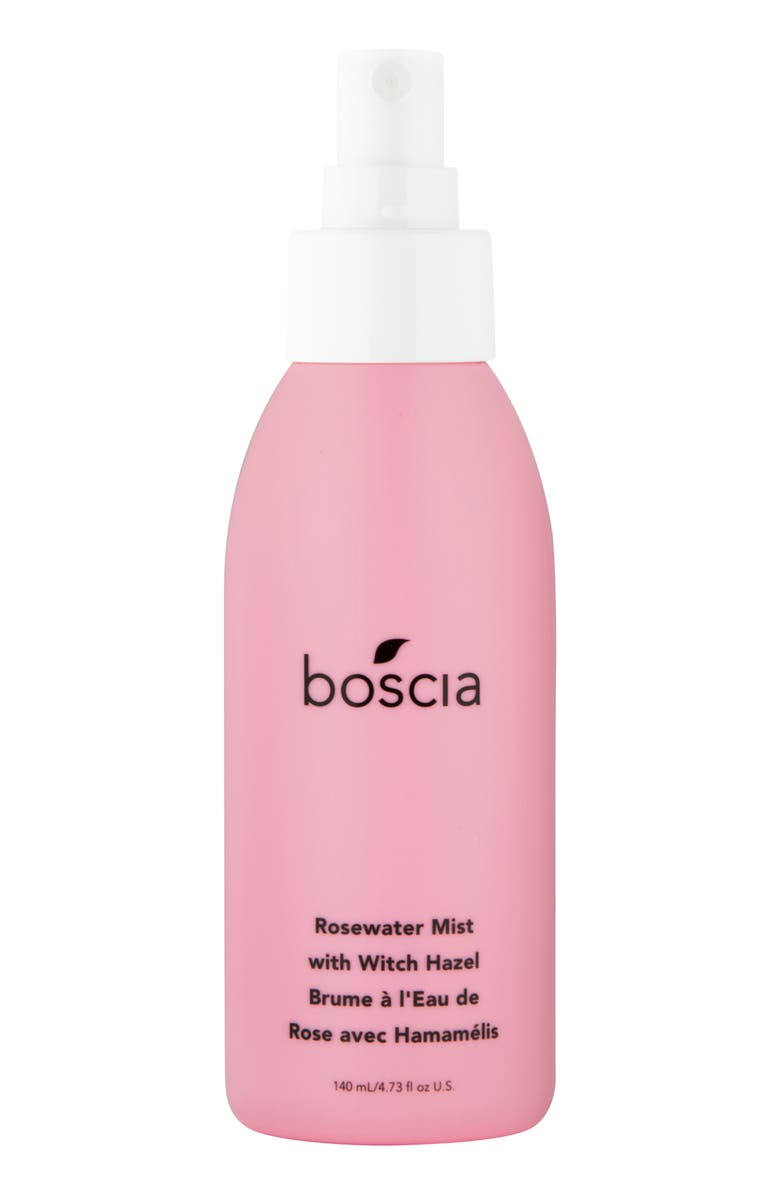 BOSCIA Rosewater Mist with Witch Hazel, Main, color, NO COLOR