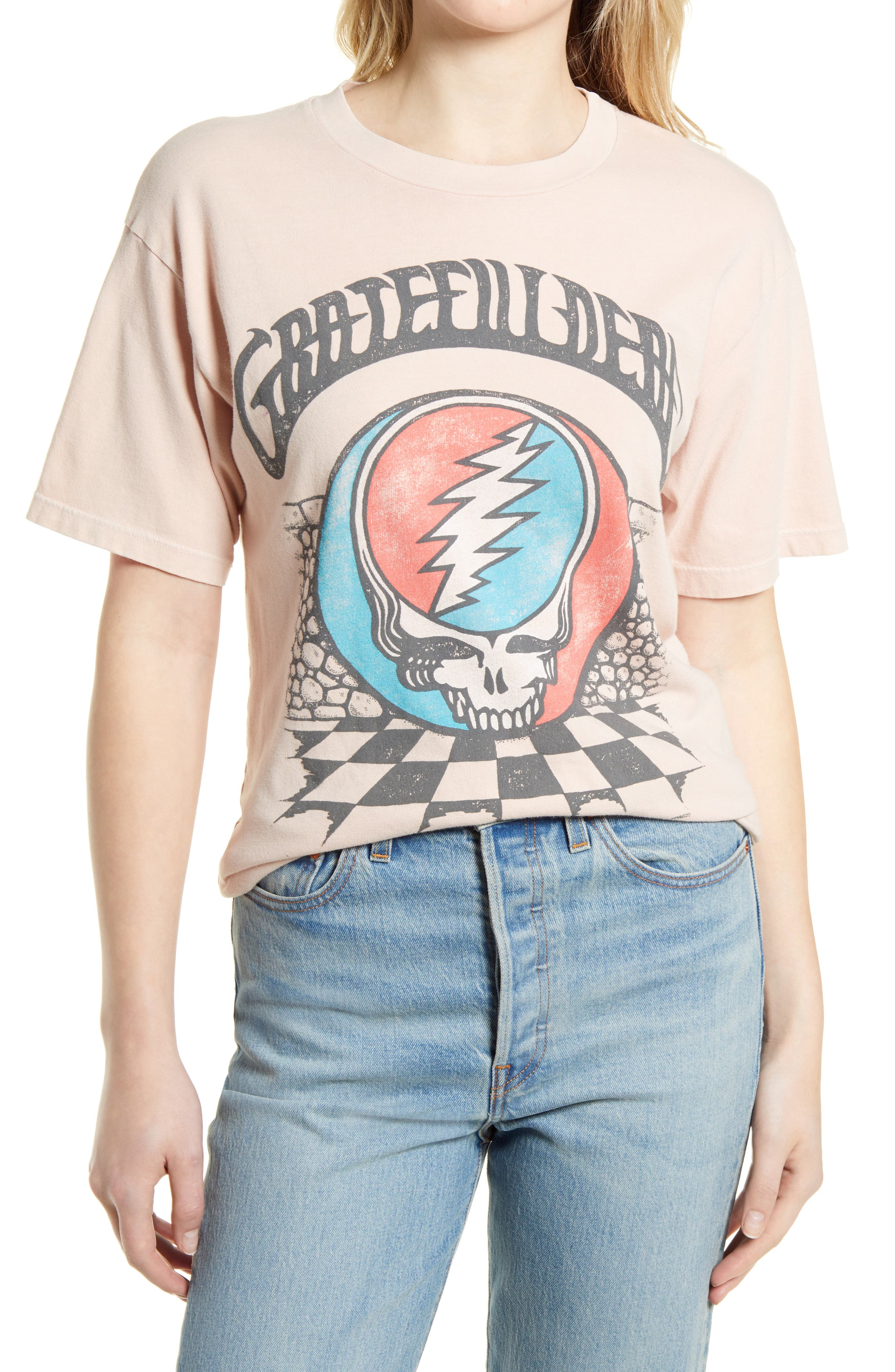 Grateful Dead Checkers Weekend Graphic Tee
