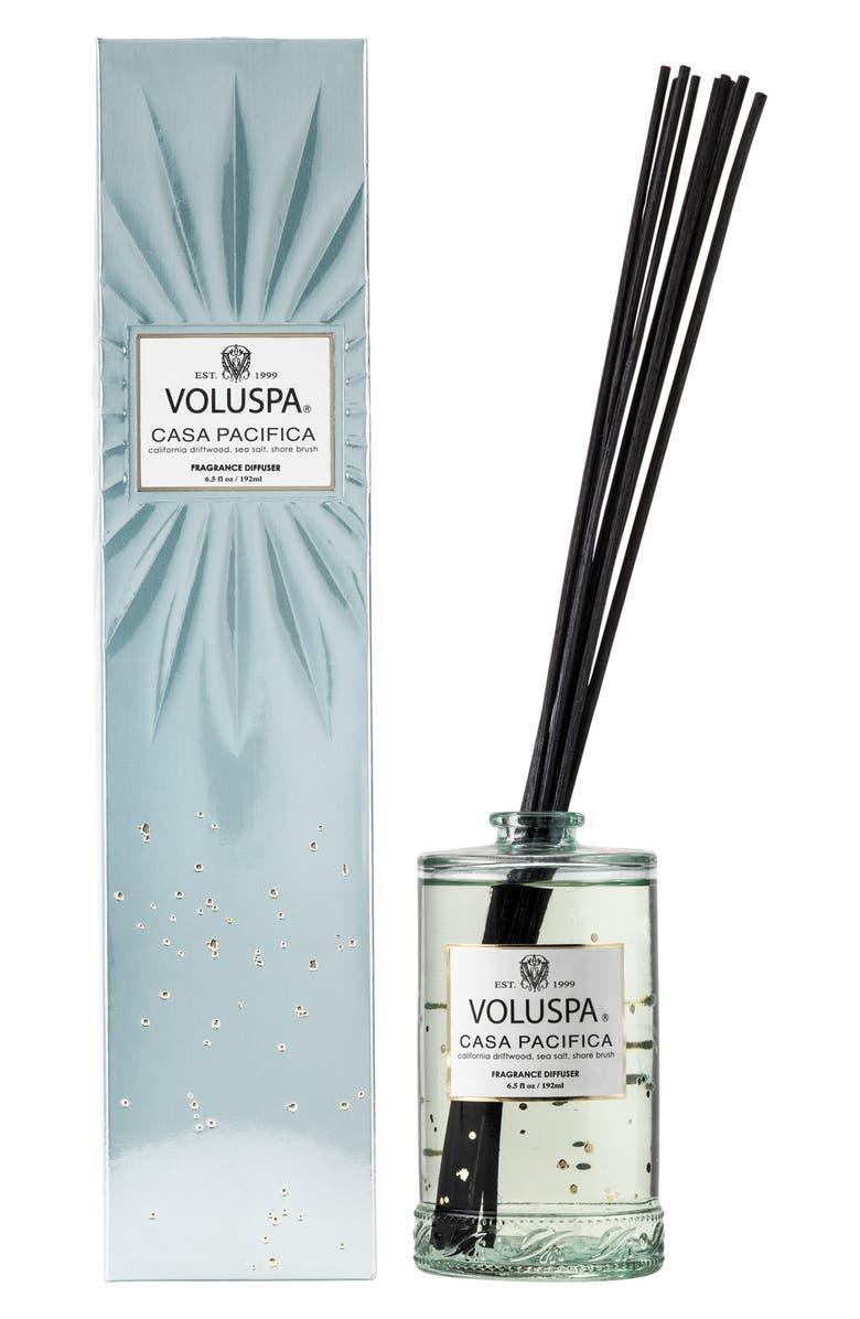 VOLUSPA Vermeil Casa Pacifica Fragrant Oil Diffuser, Main, color, NO COLOR