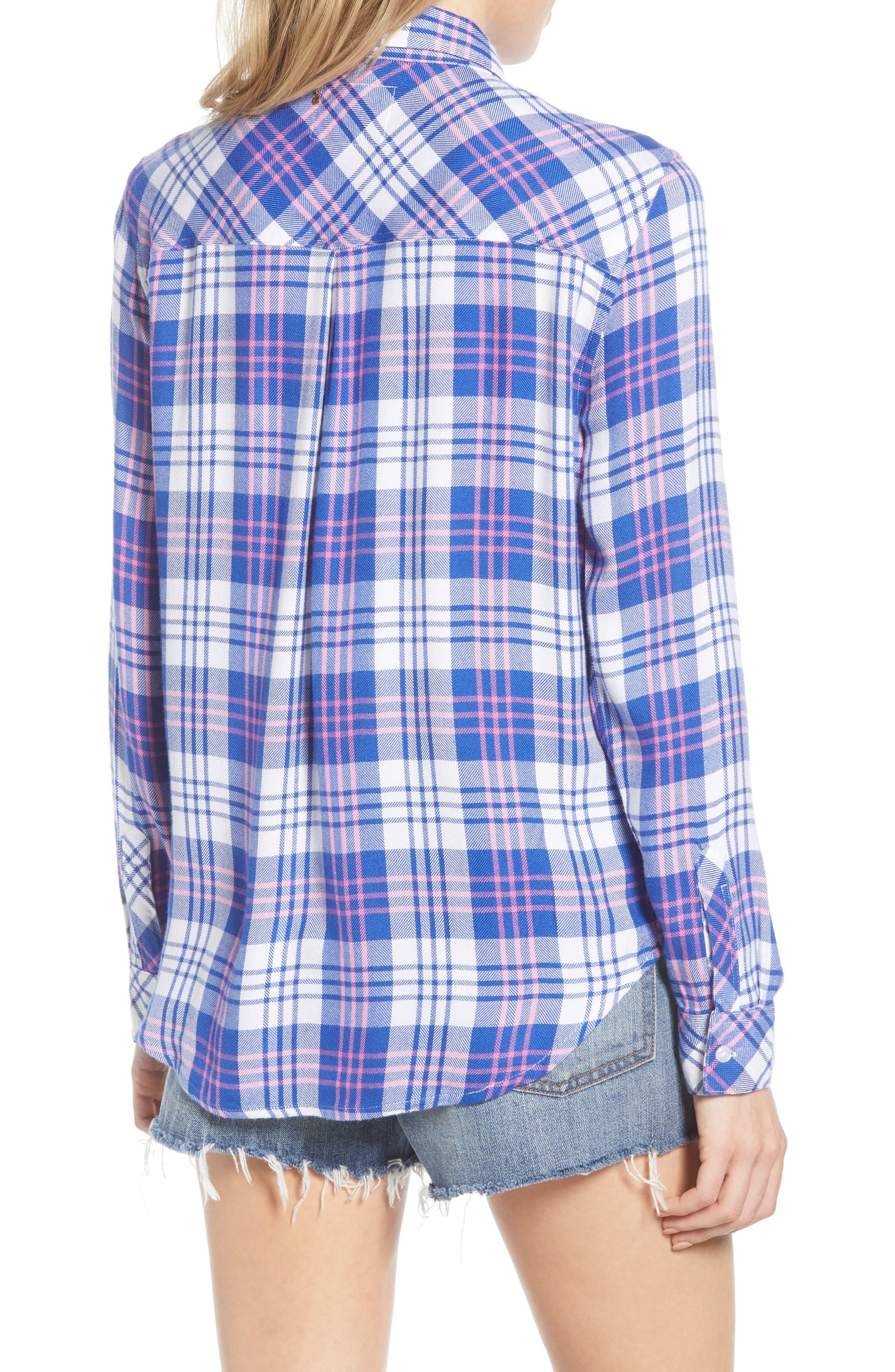 ,                             Hunter Plaid Shirt,                             Alternate thumbnail 121, color,                             425