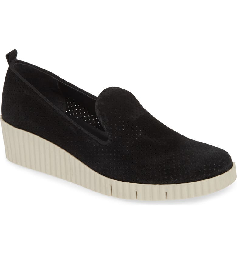 THE FLEXX Fast Times Too Perforated Wedge Loafer, Main, color, 012
