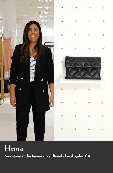 XXL Kensington Soft Quilted Leather Shoulder Bag, sales video thumbnail