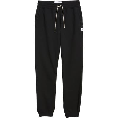 Reigning Champ Slim Fit Sweatpants, Black