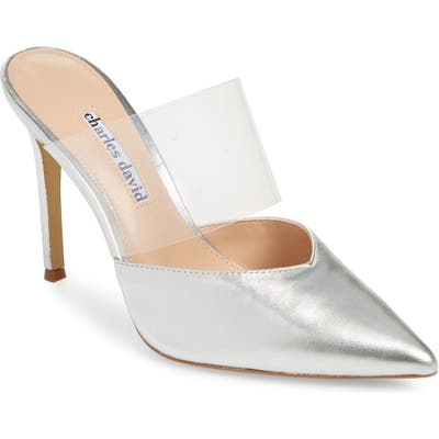 Charles David Cammy Mule- Metallic