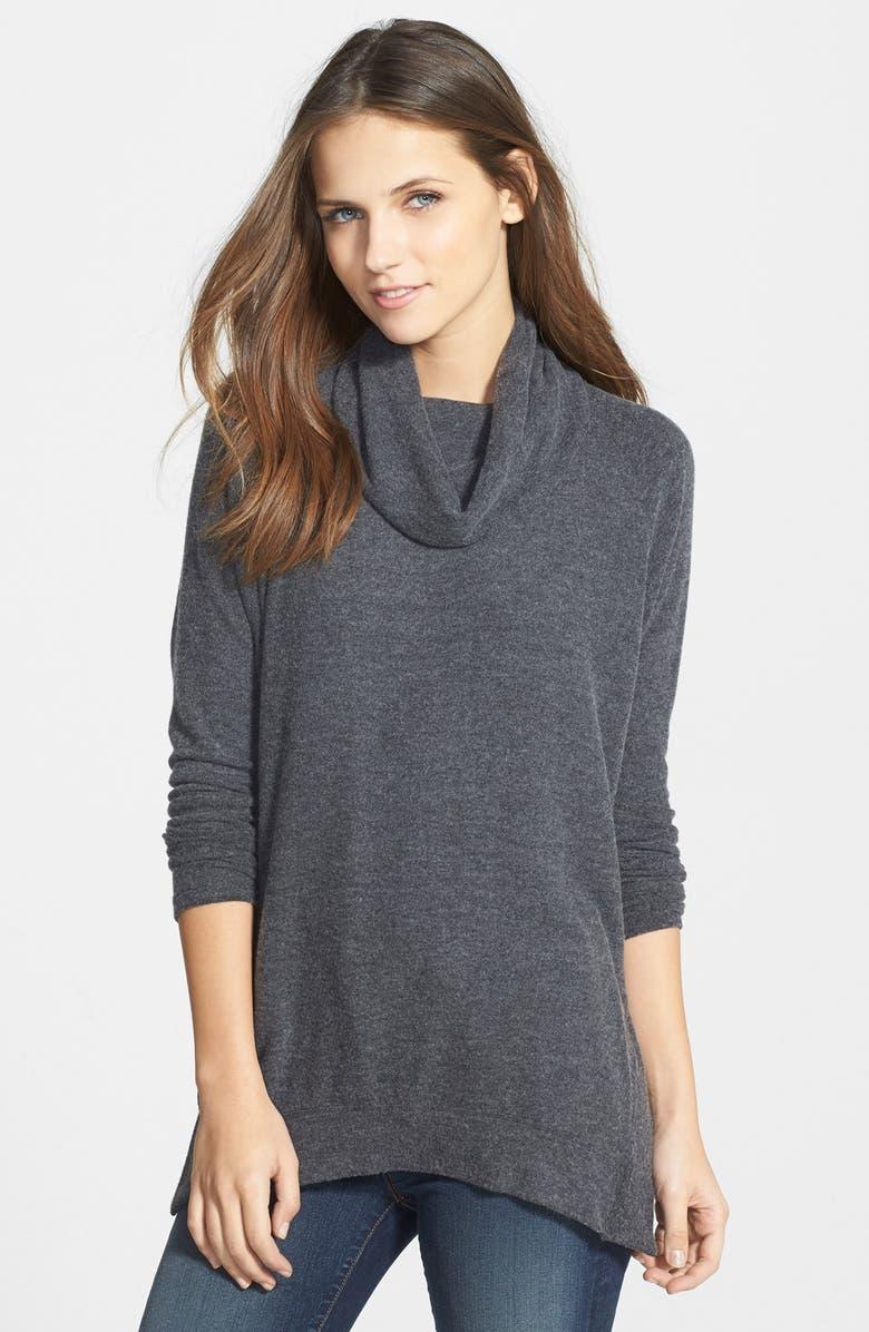 VELVET BY GRAHAM & SPENCER Velvet Cowl Neck Sweater, Main, color, 024