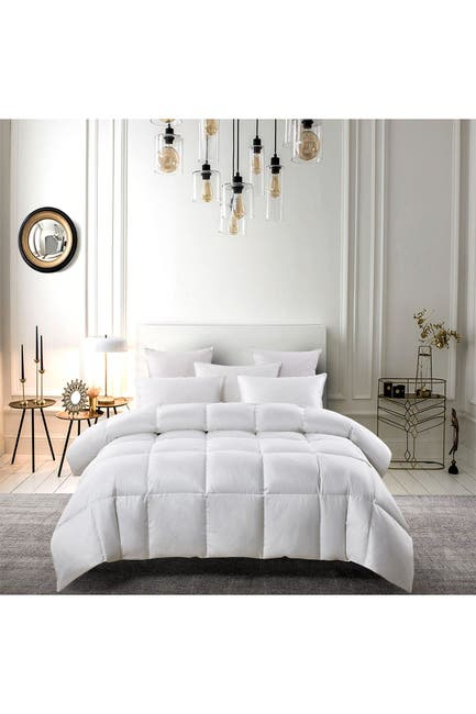 Image of Blue Ridge Home Fashions Serta 300TC Light Warmth White Down & Feather Comforter - King - White