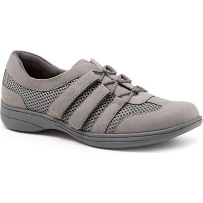 Trotters Joy Slip-On Sneaker, Grey