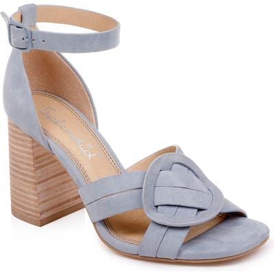 Splendid Tallie Ankle Strap Sandal- Blue