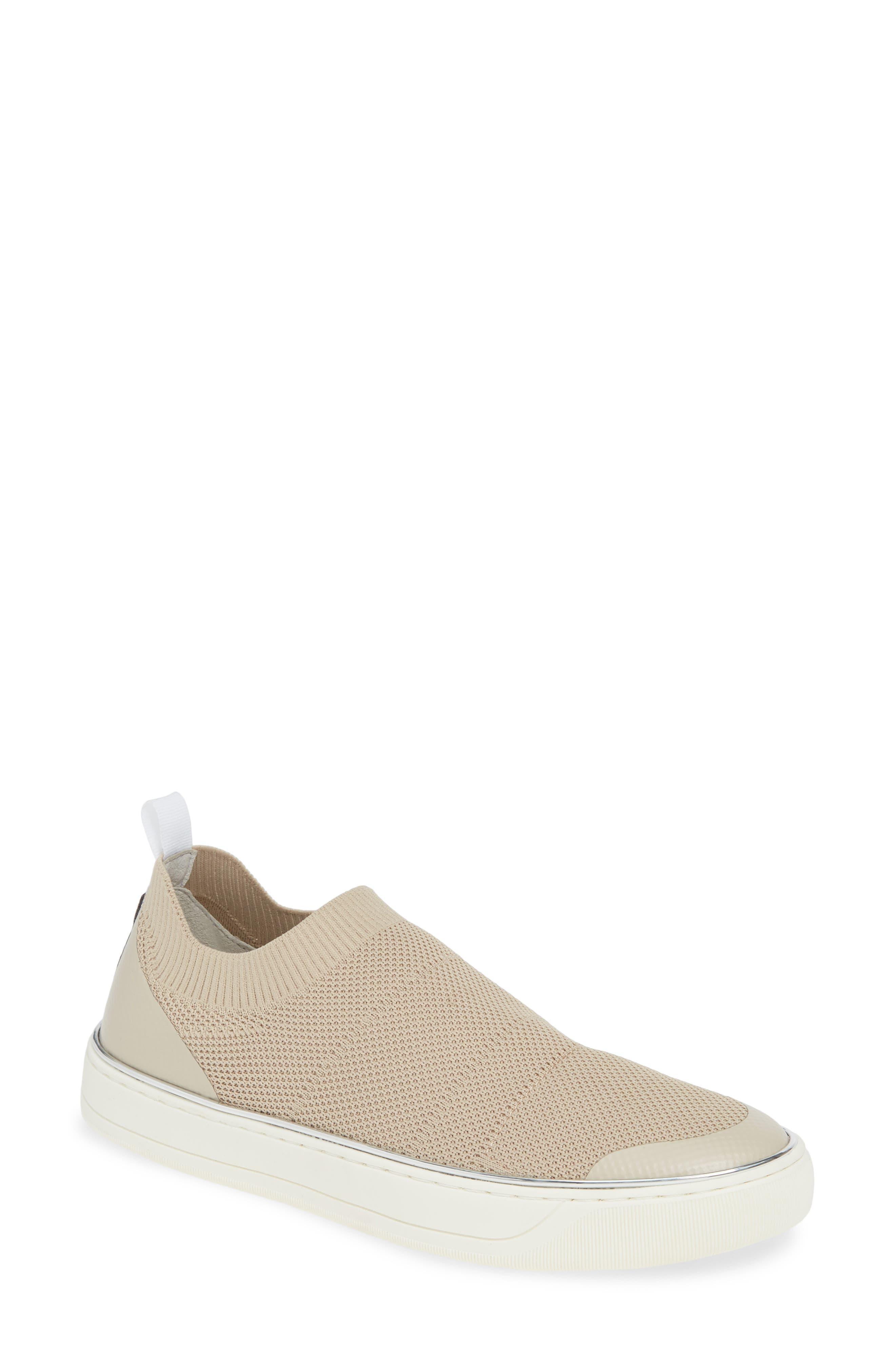 Johnston & Murphy Ember Slip-On Sneaker- Beige